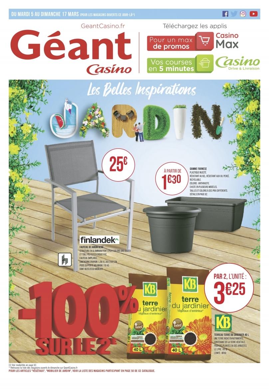 Catalogue Casino mobilier et outils de jardin du 5 mars au ...