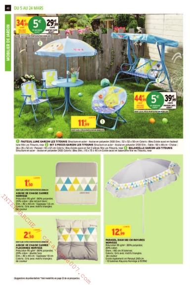Intermarché arrivages jardin printemps 2019 – Catalogue007.com
