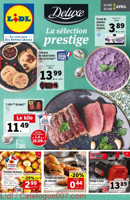 Lidl arrivages du 3 au 9 avril 2019