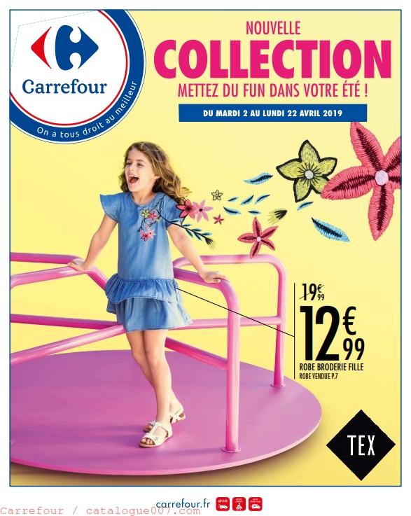 Carrefour textile collection TEX été 2019