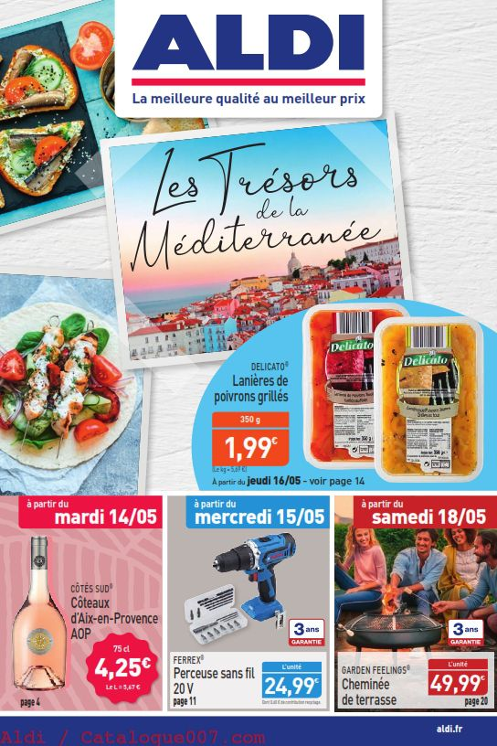 catalogue Aldi arrivages du 14 au 18 mai 2019