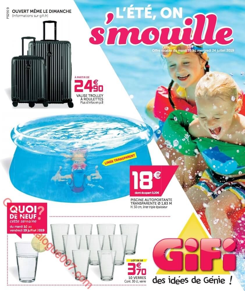 Gifi Catalogue été Du 16 Au 24 Juillet 2019 Catalogue007com