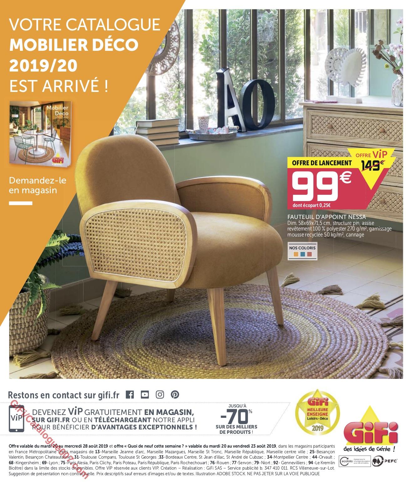 Bons Plans Gifi Du 20 Au 28 Août 2019 Catalogue007 Com