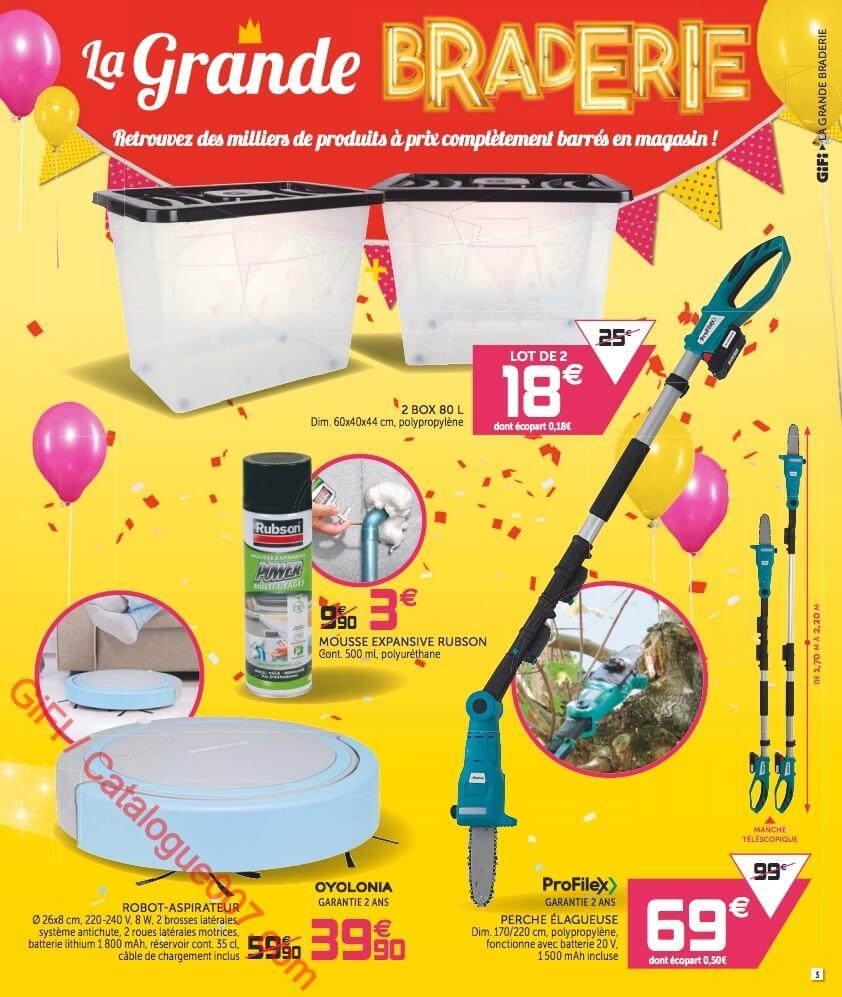 Gifi Catalogue Promos Du 24 Septembre Au 2 Octobre 2019