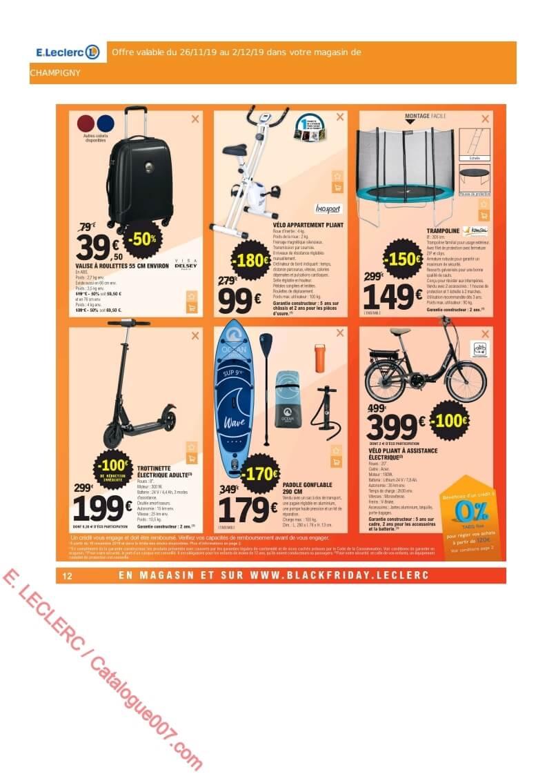 E Leclerc Catalogue Black Friday Du 26 Novembre Au 2