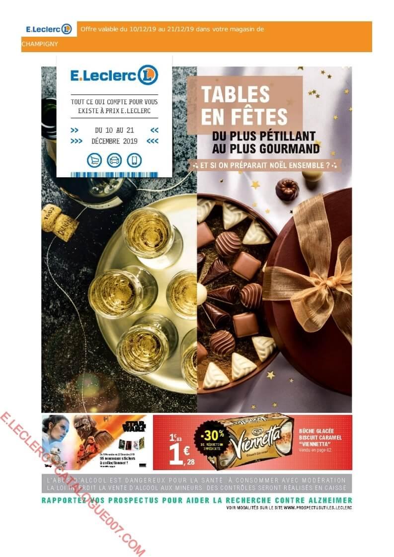 Eleclerc Catalogue Noël Du 10 Au 21 Décembre 2019